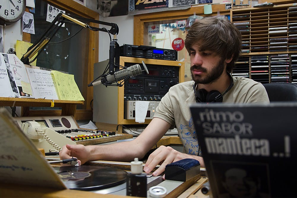Late night beats on WXYC; Just because you're not listening doesn't mean they aren't playing