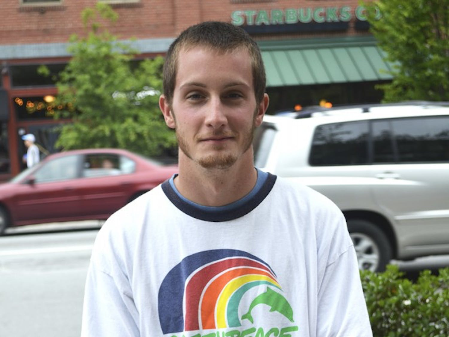 Macon Craig is a new employee at Greenpeace.  Craig got involved by respond to an advertisement on Craigslist.