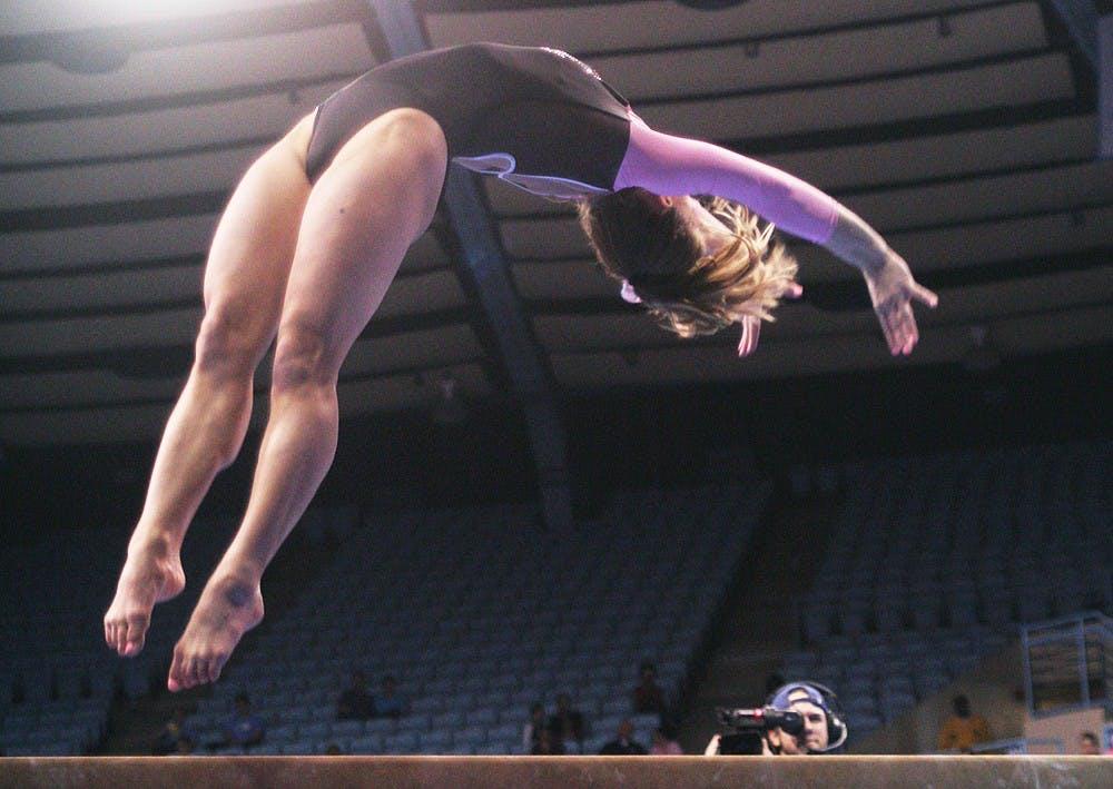 Gymnasts rebound against George Washington