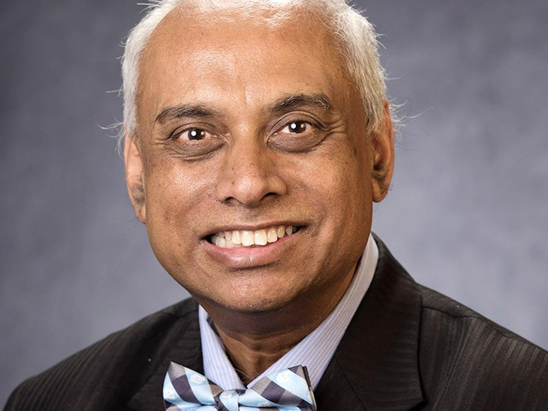 "Diversity award-winner for the faculty division: Debashis ""Deb"" Aikat. Photo by Jon Gardiner/UNC-Chapel Hill."