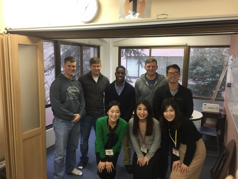 <p>Adam Schaffernoth is a Philips scholar who is using the funds from the scholarship on a project with Marines studying&nbsp;in Japan. Photo courtesy of Adam Schaffernoth.&nbsp;</p>
