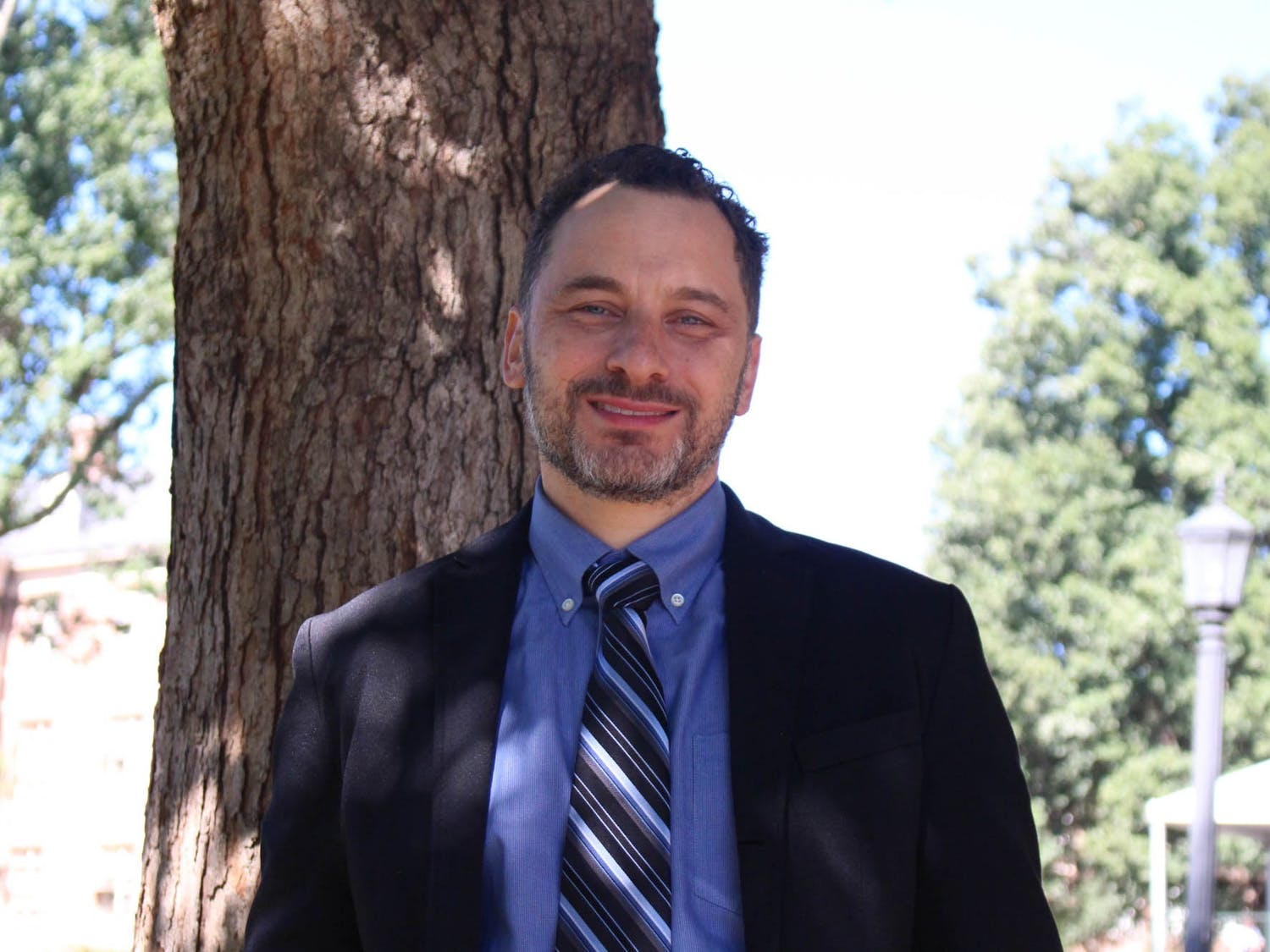 """Professor Seth Noar launched the Communication for Health Impact (CHI) Lab through the Hussman School of Journalism and Media. CHI is """"dedicated to promoting health through communication""""."""