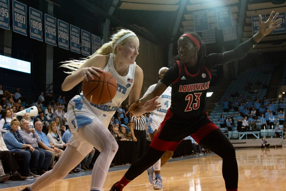 'We're fighters': UNC women's basketball's rally falls short against No. 5 Louisville