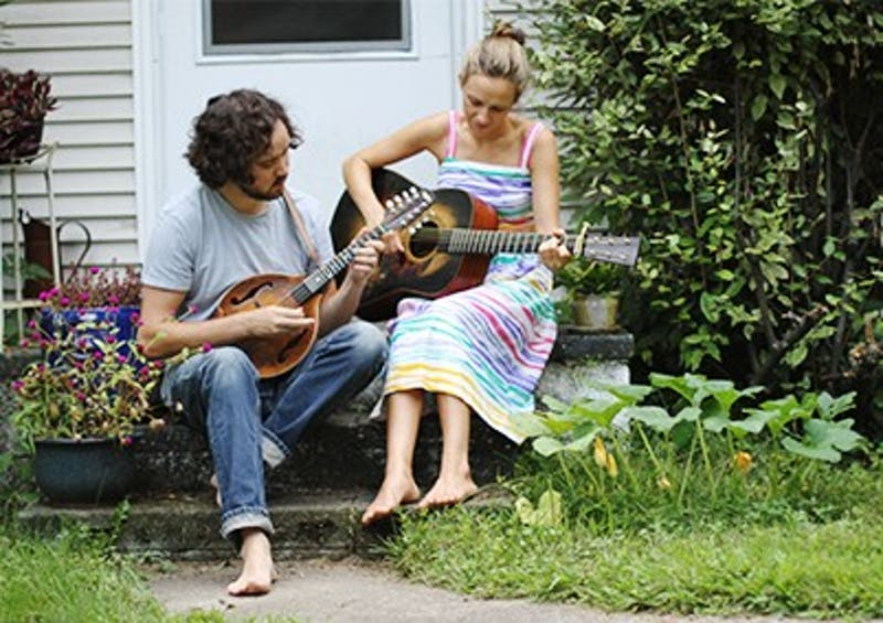 Andrew Marlin and Emily Frantz of Mandolin Orange will be playing their album release concert on Friday at Cat's Cradle.