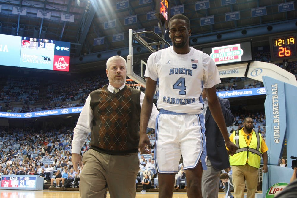 'It's who we have': Roy Williams, UNC facing unprecedented injury problems this season