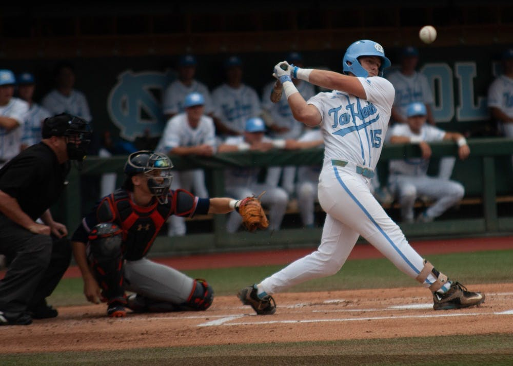 UNC baseball uses two-run first inning, shutout pitching to tie Super Regional