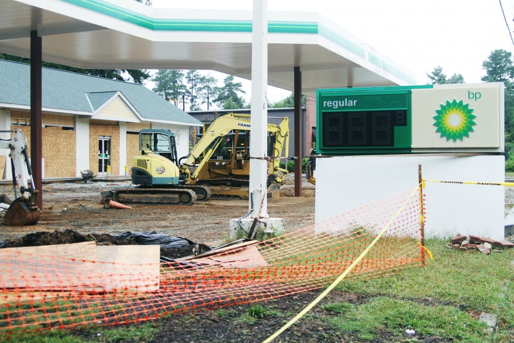 Chapel Hill gas station cited for gas spill
