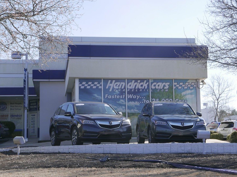 Hendricks Performance AutoMall is the future site of Wegmans.