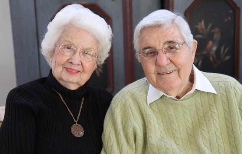 Bill and Ida Friday. Precious.