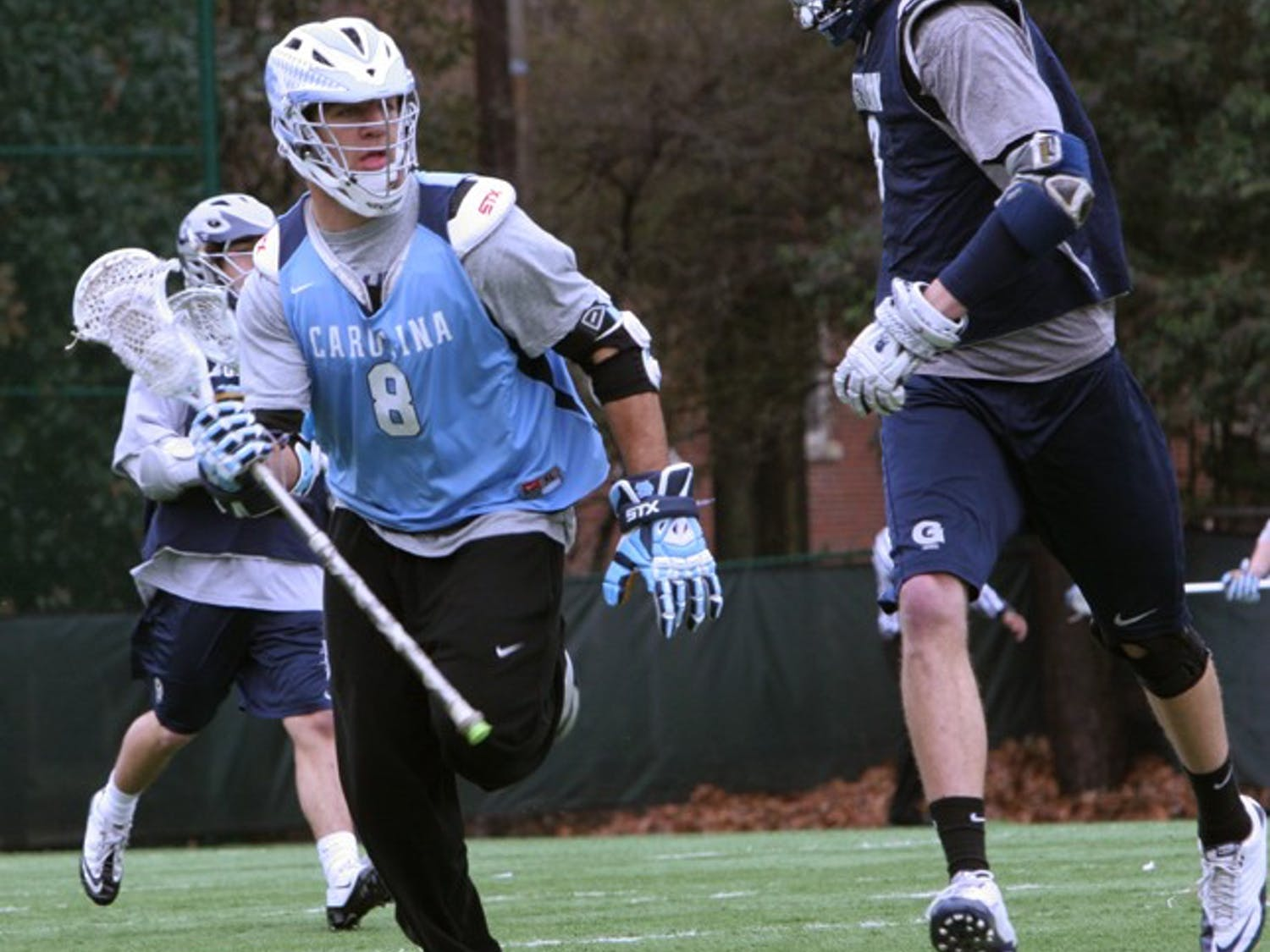 Freshman midfielder T.J. Kemp is one of 11 freshmen UNC coach Joe Breschi said could see regular playing time this season with the team.