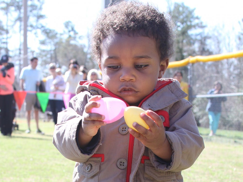 1,200 children, ages 2 to 10, participated in Community Egg Hunt