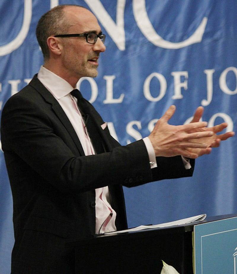 Arthur Brooks, director of the american institute for enterprise, delivered the Park lecture on Thursday afternoon.
