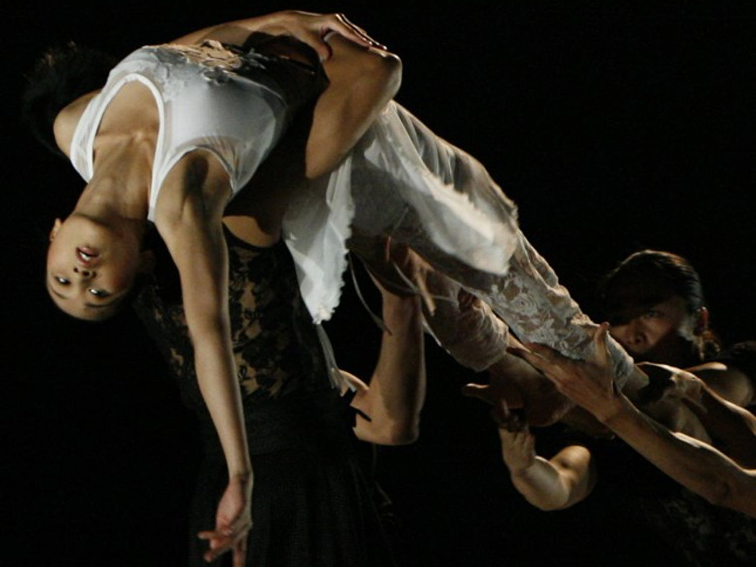"""Dancers of BeijingDance/LDTX perform """"The Cold Dagger."""" The dance company will be performing at Memorial Hall tonight and tomorrow. Courtesy of Anne Cecile Guthmann"""