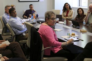 Members of the Faculty Executive Committee discuss HB2, which was signed into law Mar. 3.