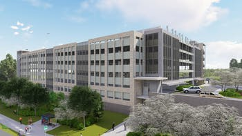 This is a rendering of what the Michael building, a part of UNC Health Care's Eastowne Development Project, will look like once it is finished in 2020. Photo courtesy of Development & Construction Insight LLC and UNC Health Care.