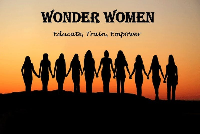 Wonder Women, a female empowerment group at UNC, is hosting a two-day series of workshop to spread awareness about domestic violence. Photo courtesy of Olivia Proops.