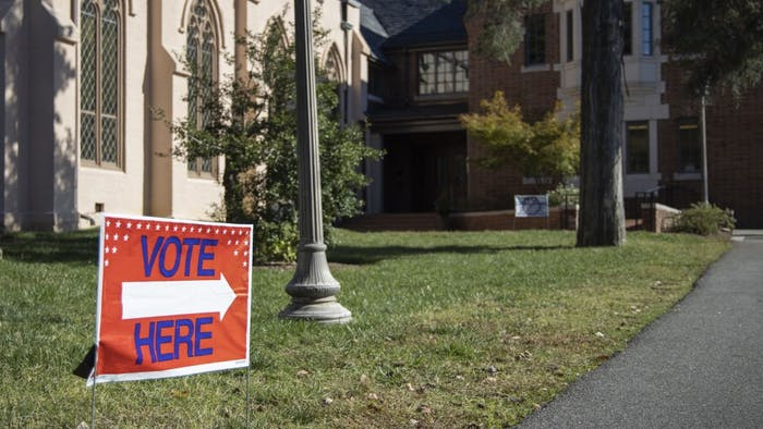 Early voting for the Chapel Hill local election is available on weekdays from 9 a.m. to 6 p.m. and Sunday, Oct. 27 from 12 p.m. to 4 p.m. at Chapel of the Cross on E. Franklin St.