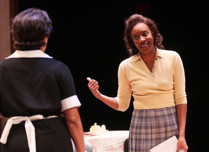 Miriam Hyman plays Beneatha Younger in A Raisin in the Sun. The dress rehearsal of A Raisin in the Sun at Playmakers Theatre was on Thursday night.