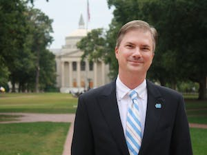 Chancellor Thorp held an open house on Monday to answer questions about the honor system and non-discrimination policy.