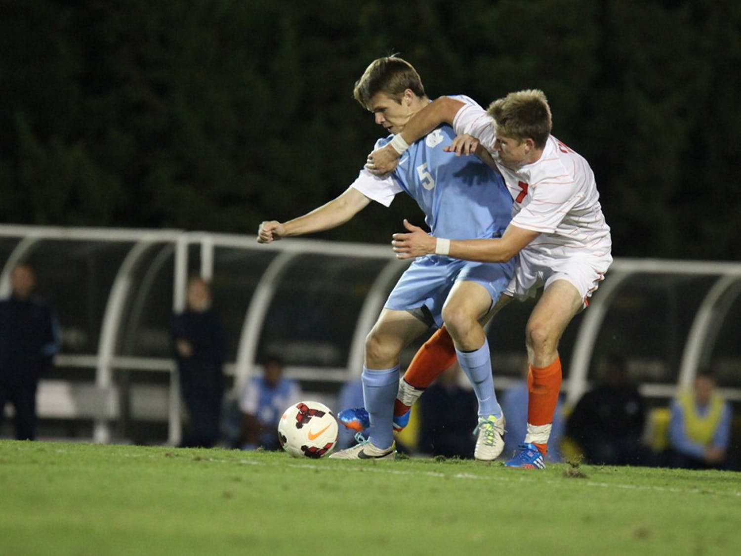 UNC Men's soccer lost to Clemson.
