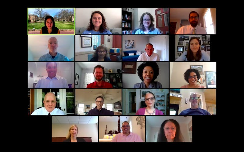 Members of the Advisory Committee on Undergraduate Admissions met Tuesday, Sept. 29, 2020 via Zoom to discuss the incoming undergraduate class.