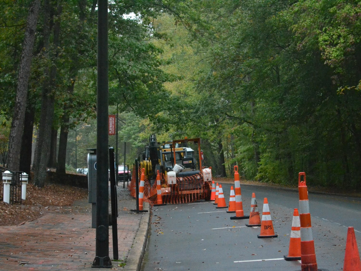 OWASA's replacement of water lines on Country Club Road from Oct. 28, 2019 until January 2020 could reduce the flow of traffic to one lane and impact the availability of street parking.