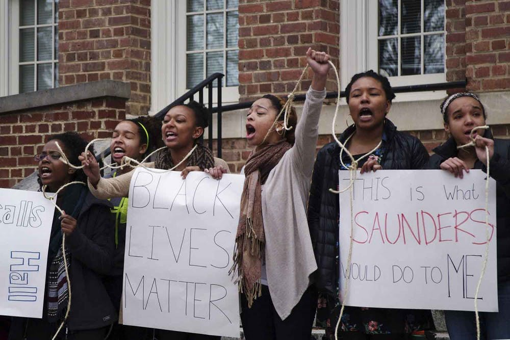Trustees to take up Saunders Hall renaming in meeting Wednesday