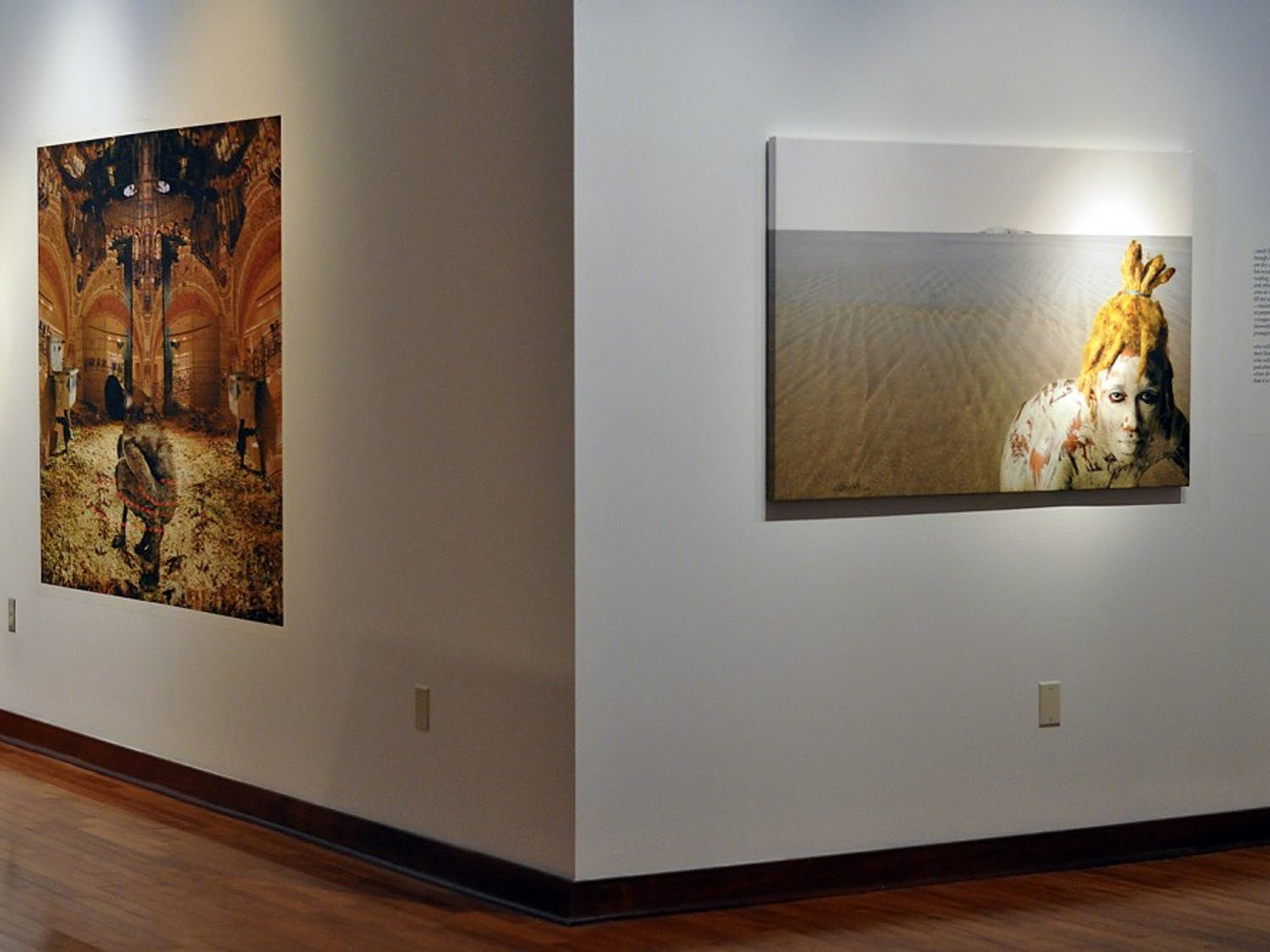 Ritual + Time Travel = Rebirth: Images and Words by Michael Platt and Carol Beane will be shown at the Sonja Haynes Stone Center's Robert and Sallie Brown Gallery and Museum from January 29 through May 11.