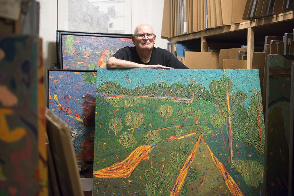 UNC artist Marvin Saltzman's legacy lives on in landscapes