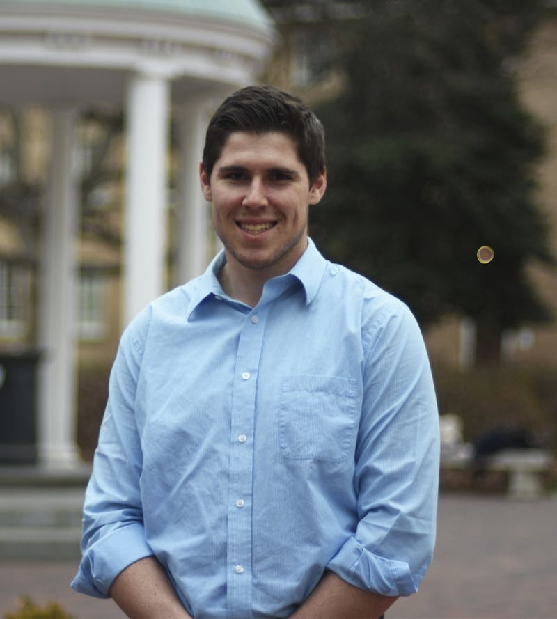 SBP Candidate Travis Broadhurst, a junior geological sciences and physics major.