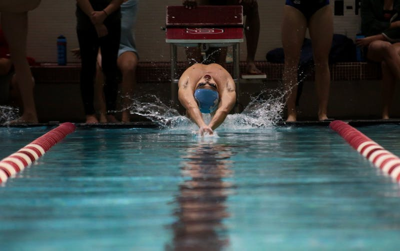 UNC swimming and diving lost to NC State on Saturday, Jan. 19, 2019 in a dual meet.