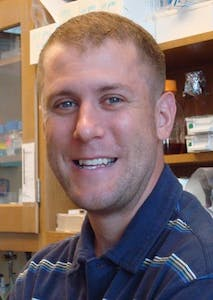 Daniel McKay is an assistant professor in the departments of biology and genetics.  His lab investigates the mechanisms behind the development of cells. Photo courtesy of McKay.