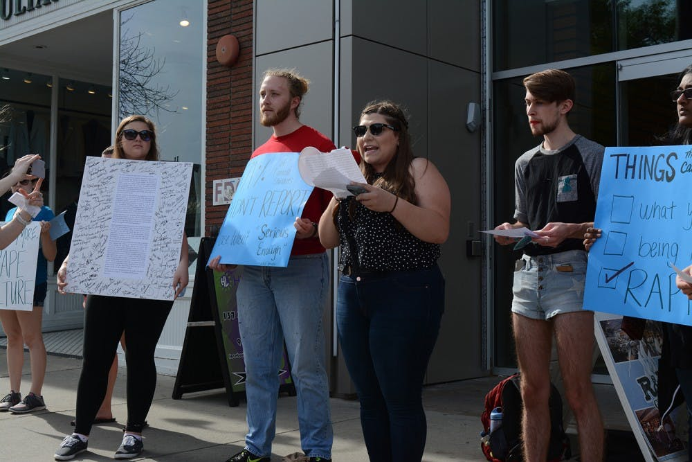'I want them to say this is not OK': Students protest Title IX investigation process