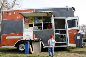 Becky Hacker and Mike Hacker own Durham-based food truck Pie Pushers. The two opened their truck seven years ago when food trucks weren't as widely known or quickly accepted by the community.