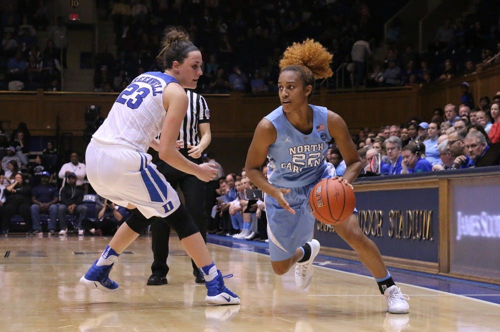 UNC women's basketball goes cold at Cameron in loss to No. 12 Duke
