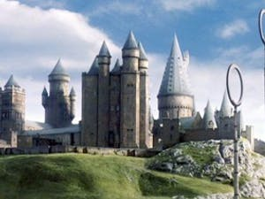 We wish we could live in Hogwarts. Photo taken fromWikipedia.