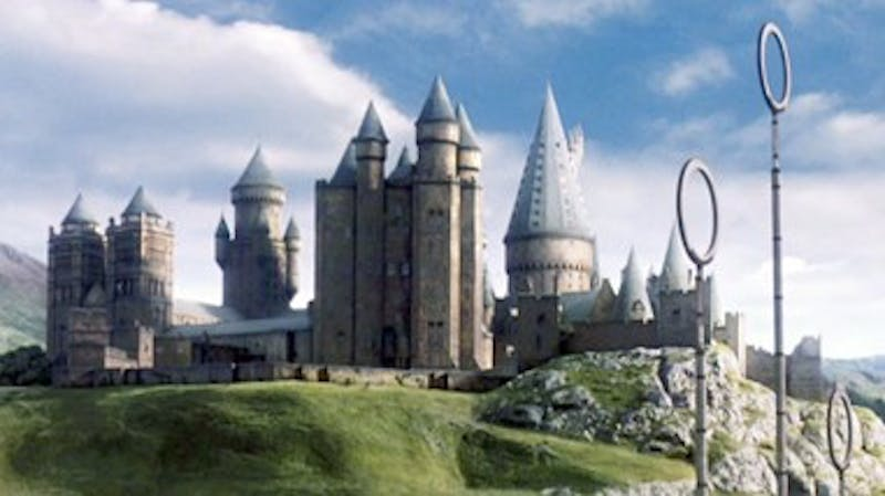 We wish we could live in Hogwarts. Photo taken from Wikipedia.