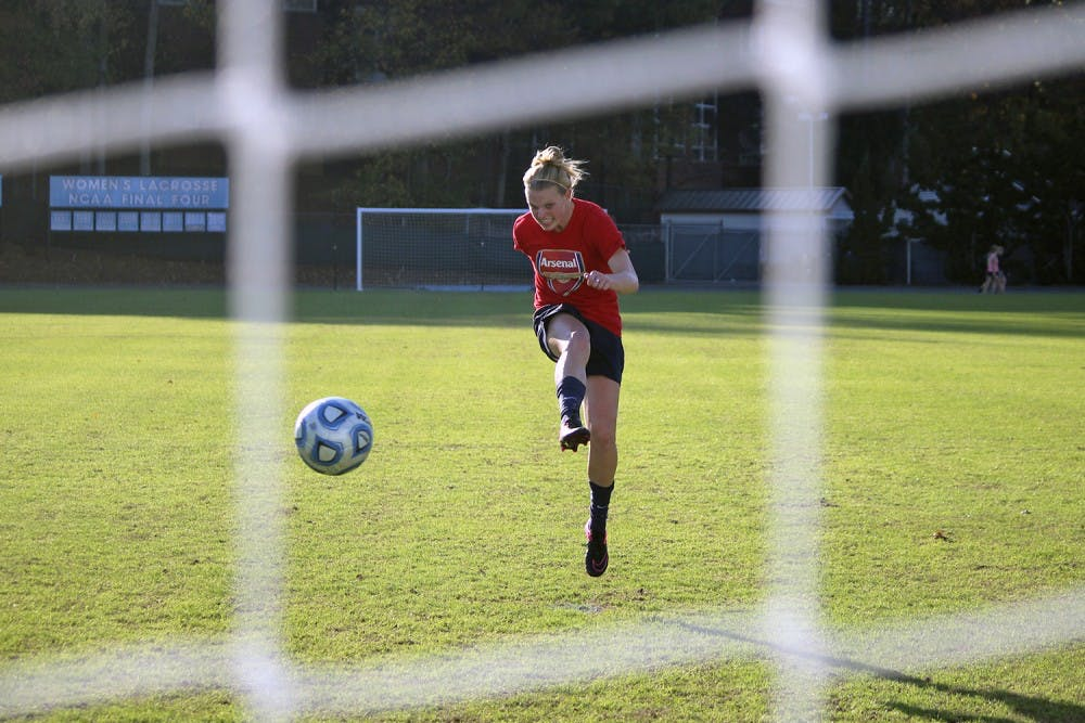 From walk-on to starter in one game, women's soccer defender Hanna Gardner makes a name for herself