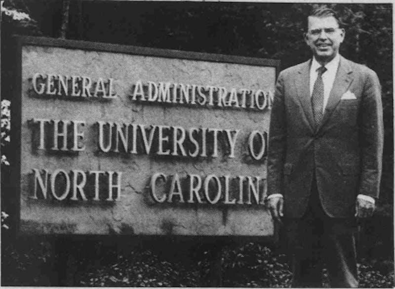 15th UNC-system President C.D. Spangler.