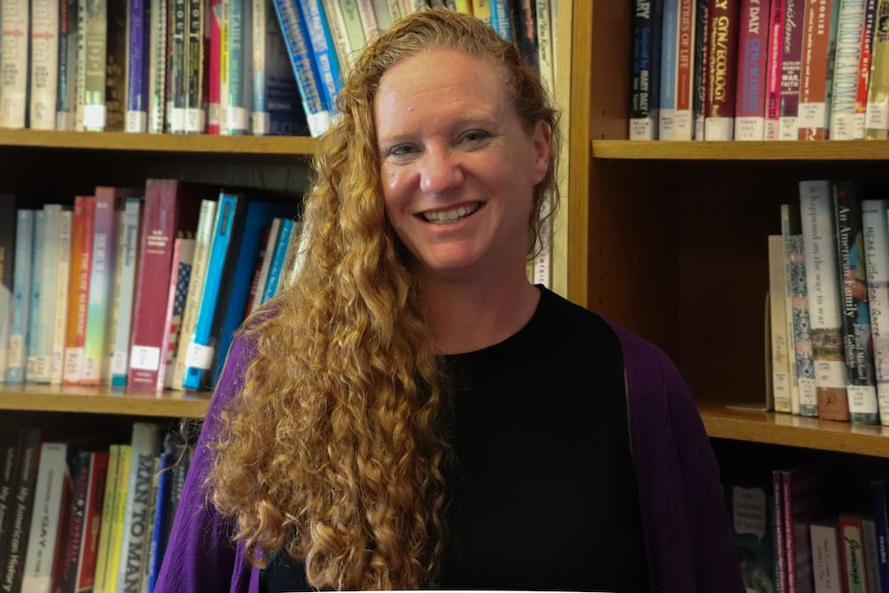 Dr.April Callis is the Assistant Director of the LGBTQ Center at UNC-Chapel Hill.