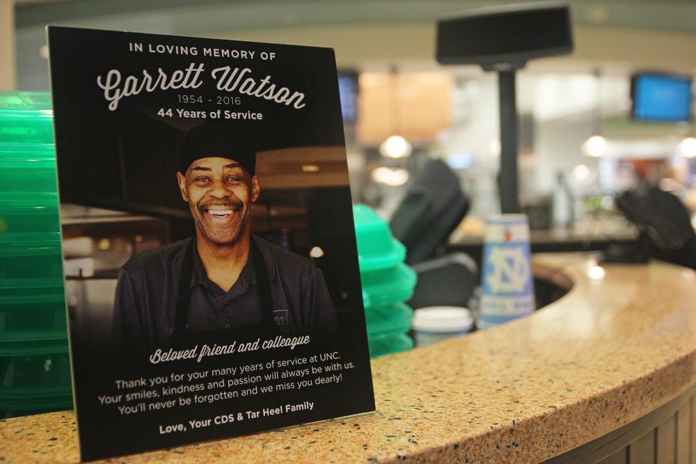 Dining hall worker dies after 44 years at UNC