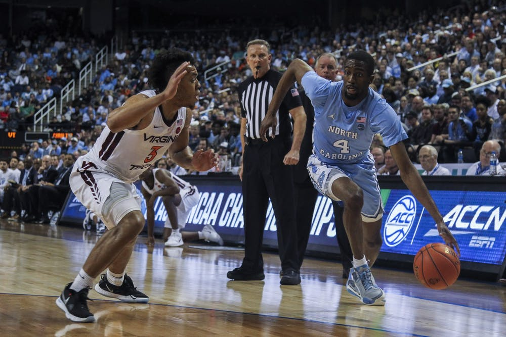 'I'm here': Brandon Robinson extends UNC's ACC Tournament stay with Virginia Tech win