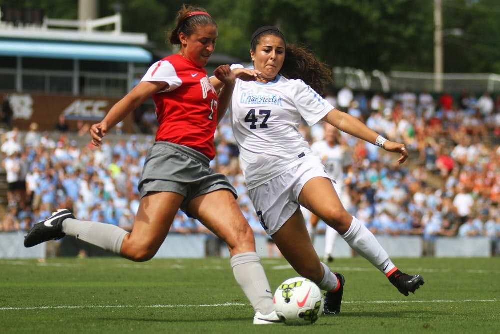 UNC women's soccer freshmen stepped up in season kickoff