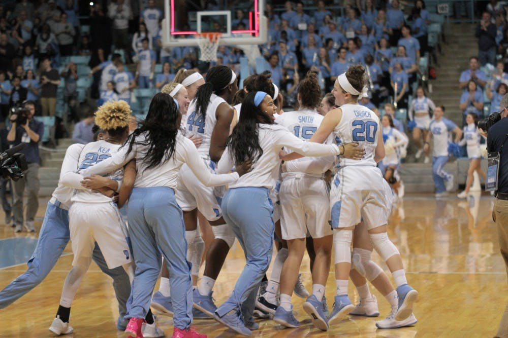 North Carolina women's basketball stuns No. 15 Duke, 92-86, with 19-point comeback