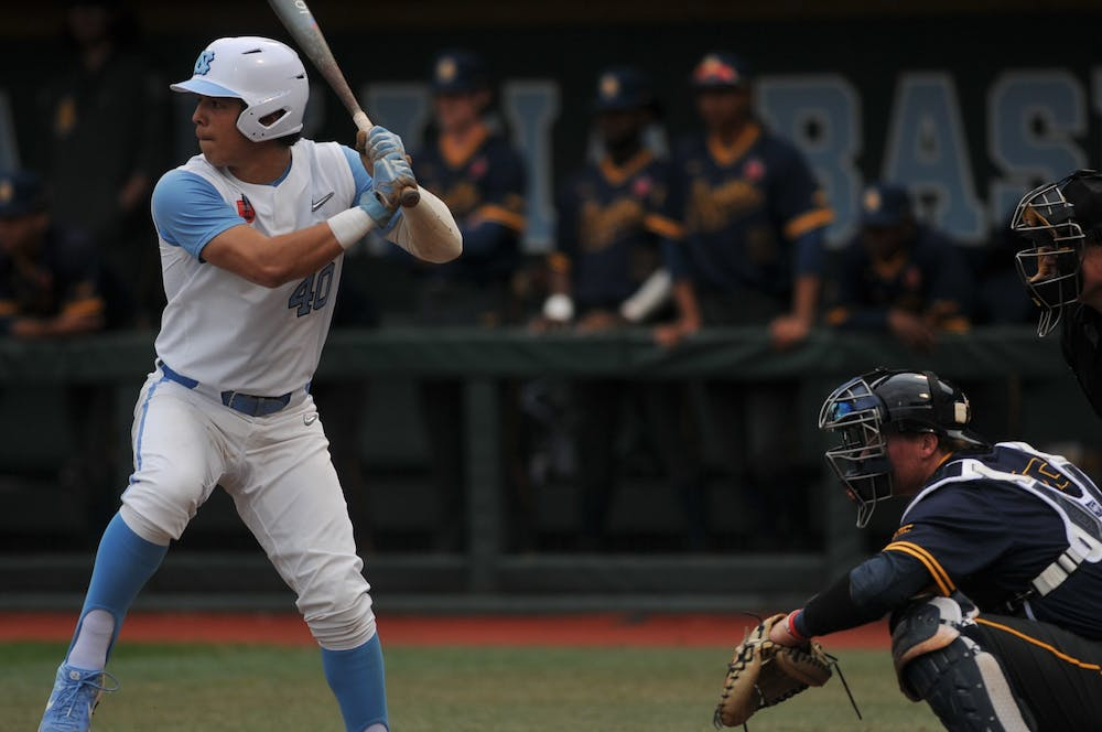 UNC baseball bounces back from consecutive losses with 8-0 win over North Carolina A&T