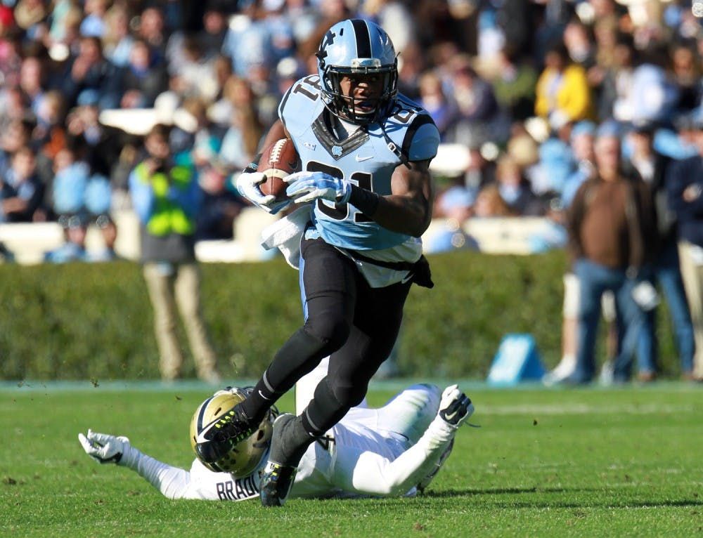 Tight ends bring versatility to UNC offense