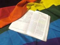 Binkley Baptist Church is hosting a new Bible study series about understanding Bible quotes traditionally used to denigrate the queer community in a new, positive light. Photo by Austin Maynor.