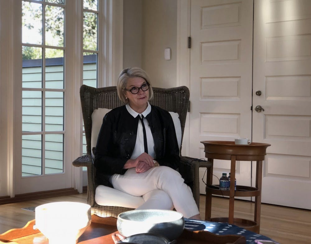We sat down with Margaret Spellings just months before her early resignation