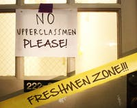 Photo: UNC to stop reserving North Campus residence hall space for freshmen (Taylor Hartley)