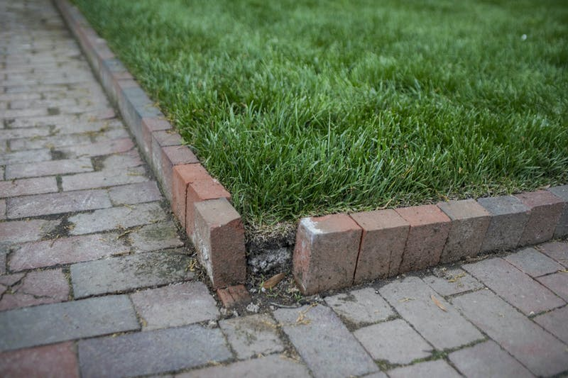 UNC seniors have a habit of stealing bricks from around campus at the end of the year to keep as souvenirs.